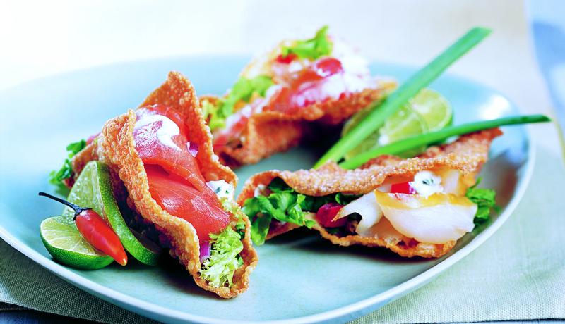 Alaska Taco Sushi Bites